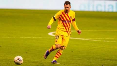Por decisión técnica, Messi no fue convocado a la Champions League