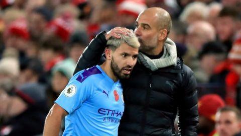 Manchester City no apurará la vuelta de Agüero: Guardiola