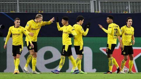 Haaland y Sancho ponen al Dortmund casi en octavos