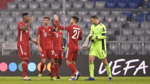 El Bayern sella pase a octavos y primer lugar del grupo