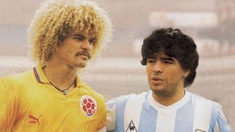 """Carlos Valderrama: """"Maradona nunca se va a ir, los artistas nunca se van"""""""