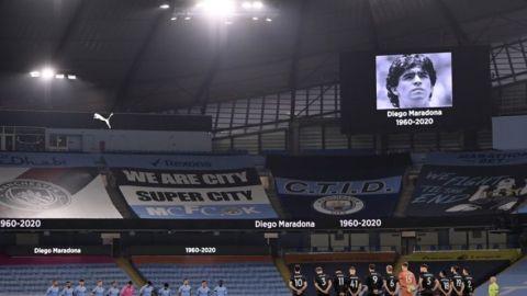 Incesantes homenajes a Maradona en el mundo del fútbol