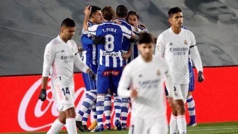 Alavés rompe la quiniela y derrota al Real Madrid