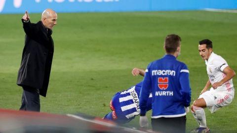 """Zidane: """"No tengo explicación"""""""