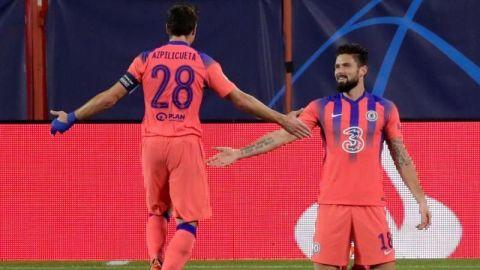 Giroud, con un póker (0-4), pone al Chelsea en octavos como primero de grupo