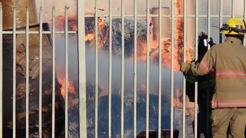 Cinco incendios activos en Tijuana
