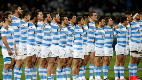 Federación argentina de rugby levanta sanción a jugadores de Los Pumas