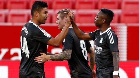 Real Madrid derrota al Sevilla y respira en la Liga