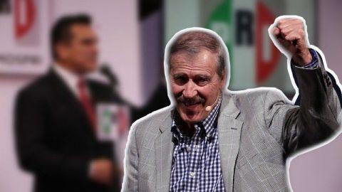 Vicente Fox aplaude al PAN alianzas con PRI y PRD
