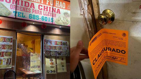 Restaurante chino con caca de ratas, insectos y cucarachas