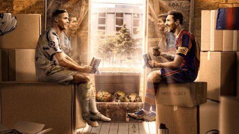 Lionel Messi y Cristiano Ronaldo se reencontrarán en el Camp Nou