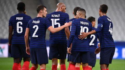 Francia tendrá un camino cómodo rumbo al Mundial 2022