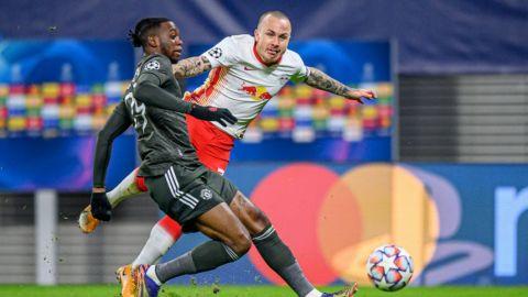 Leipzig vence y elimina al Manchester United