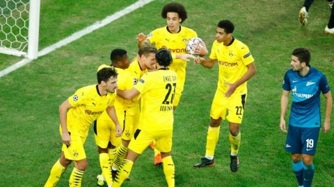 Un Borussia sin Haaland pasa como primero