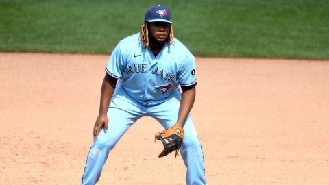 Vladimir Guerrero quiere jugar la tercera base