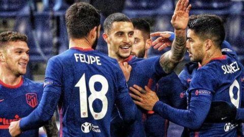 El Atlético de Madrid sobrevive en la Champions