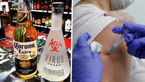SIN ALCOHOL por 42 días con vacuna contra el COVID; rusos se vuelven locos