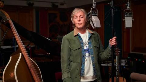 Paul McCartney elige las paredes de México para promocionar su nuevo disco