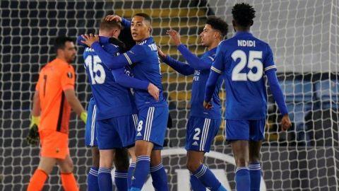 El Leicester City se clasifica como primero