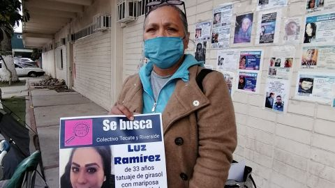 Madres de personas desaparecidas se solidarizan a huelga de hambre
