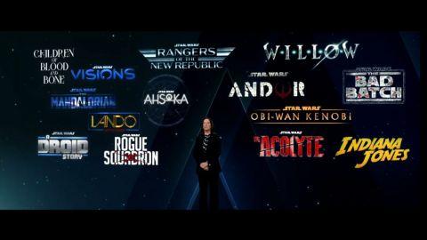 Disney anuncia decenas de series de Star Wars y Marvel