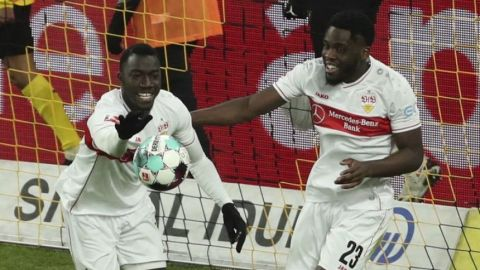 Stuttgart apalea a Dortmund en la Bundesliga