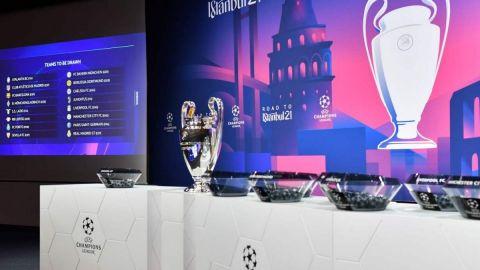 Así de jugarán los octavos de final de la Champions League