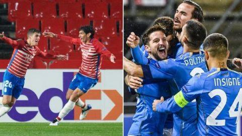 Los cruces de dieciseisavos de final de la UEFA Europa League
