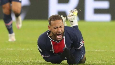 Hay optimismo en el PSG sobre la lesión de Neymar