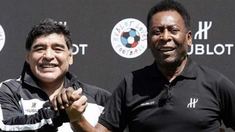 """Maradona y Pelé lideran el """"Dream Team"""" de todos los tiempos de France Football"""
