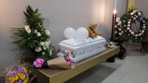 Se lleva a cabo la velación de ''Dulce María'' la niña de la hielera