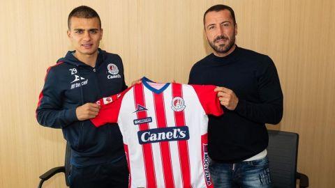 Atlético San Luis contrata a mediocampista colombiano Duque