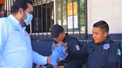 Entregará diputado cubrebocas e higienizará autos en el Cañón del Sainz