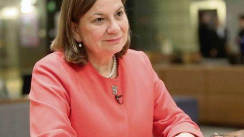Martha Bárcena felicita a Esteban Moctezuma por designación