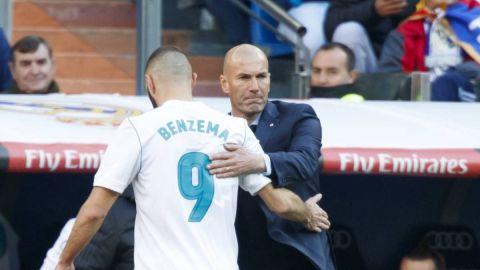 Zidane considera a Benzema el mejor delantero francés de la historia
