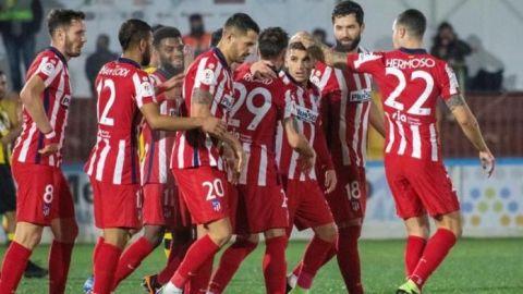 Atlético de Madrid solventa con rigor la eliminatoria en Mallorca