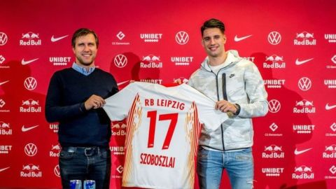 Szoboszlai jugará en el RB Leipzig