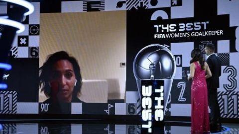 Sarah Bouhaddi, mejor guardameta de 2020