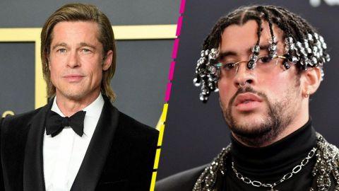 Bad Bunny y Brad Pitt, juntos en película de acción