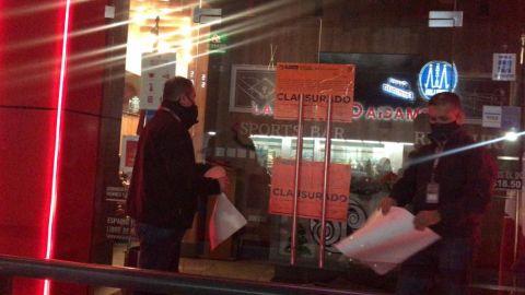 Famosa Pizzería vendía alcohol sin presentar permiso, fue clausurada