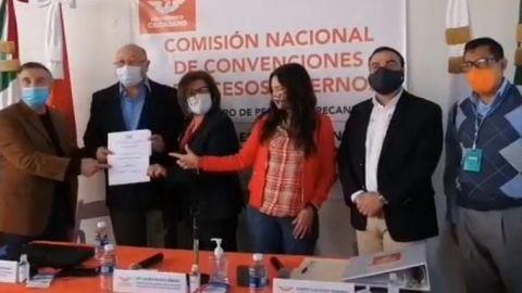 Alejandro Mungaray se inscribe por Movimiento Ciudadano a la gubernatura de BC
