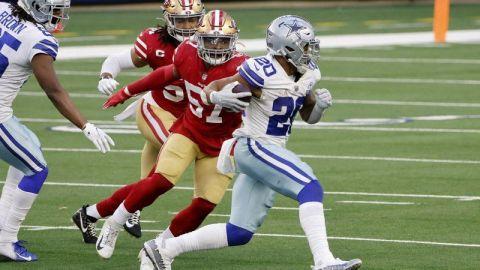 Cowboys aprovechan fallas y lesiones de 49ers