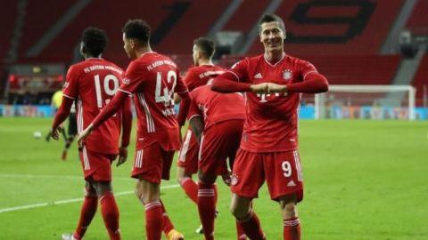 Lewandowski y Salah ponen orden