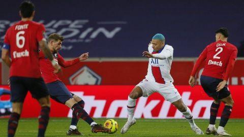 Lille mantiene cima de liga francesa al empatar con PSG