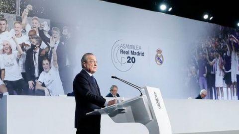 Florentino Pérez quiere cambios en el fútbol post-pandemia
