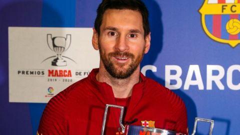 Recibe Messi su séptimo Pichichi