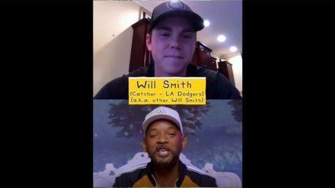 VIDEO: Will Smith el receptor conoce a Will Smith el actor