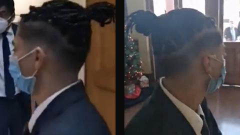 Escuela niega a alumno estar en graduación por su cabello: acusan discriminación