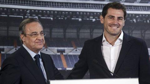 Iker Casillas regresa al Real Madrid