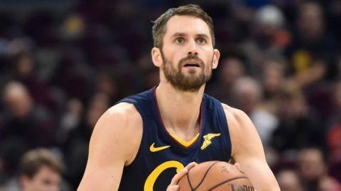Kevin Love se perderá la apertura con los Cleveland Cavaliers